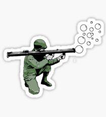 Bubbel Bazooka Sticker