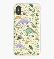 Dinosaurs! iPhone Case/Skin