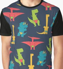 Dinos In Speedos Graphic T-Shirt