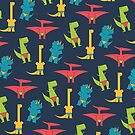 Dinos In Speedos by Teo Zirinis