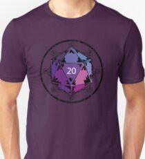 D20 (Purple) Unisex T-Shirt
