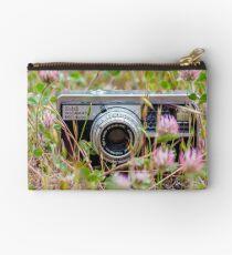 Flower Field Camera Studio Pouch
