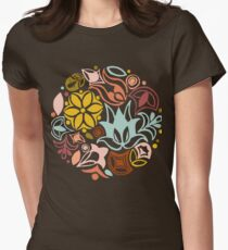 Summer Ice Cream Womens Fitted T-Shirt