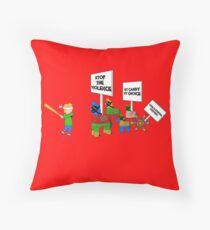 Save The Pinatas Throw Pillow