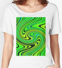 Summer Groove Watercolor Women's Relaxed Fit T-Shirt