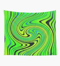 Summer Groove Watercolor Wall Tapestry