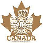 Canada Eagle Tan by clemz
