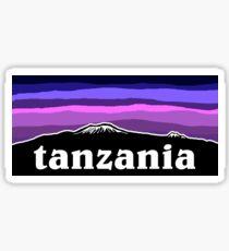 Tanzania Sunset Sticker