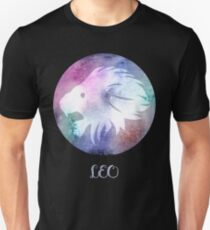 Watercolor Zodiac Leo Sign Unisex T-Shirt
