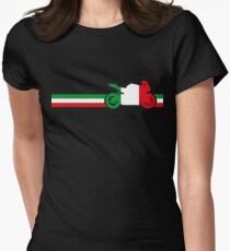 Italian Motorcycle Women's Fitted T-Shirt