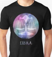 Watercolor Zodiac Libra Sign Unisex T-Shirt