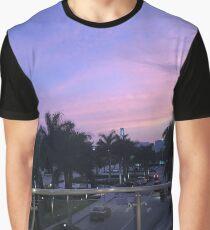 Miami Twilight Graphic T-Shirt