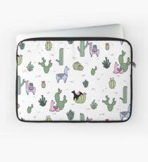 Cacti Llamas Laptop Sleeve