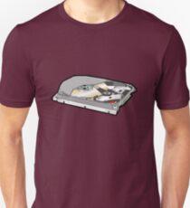 COMPUTER HARD DISK Slim Fit T-Shirt