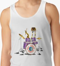 The Snake Donuts (White) Tank Top