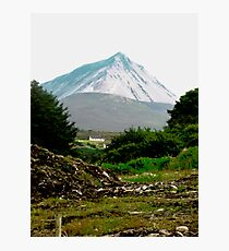 Another view of Mount Errigal, Donegal, Ireland Photographic Print