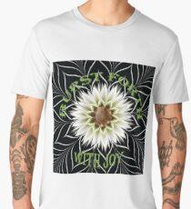 Burst Forth Typography Men's Premium T-Shirt