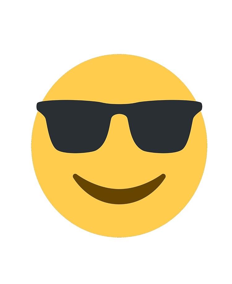 super service Super remise mode la plus désirable Lunettes de soleil (Cool) Emoji Smiley Face | Coque et skin adhésive iPad