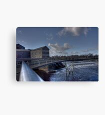 Castleford Millenium Bridge Canvas Print