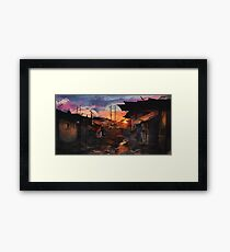 Where the Heroes Are Framed Print