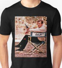 Rip Roger Moore Bond T-Shirt