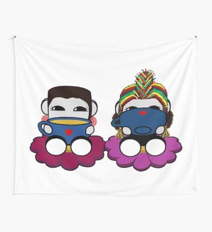 STPC: Naka Do & Oyo Yo (Truth & Sipping Tea) Wall Tapestry