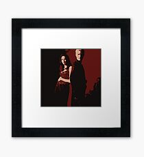 Spike & Dru Framed Print
