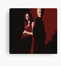 Spike & Dru Canvas Print