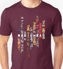 Radiohead - Album Design (Vertical #1) Unisex T-Shirt