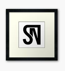 Seth Neal Media Logo Framed Print