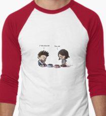 Theo and Deuc #61 - Bullied Men's Baseball ¾ T-Shirt