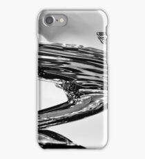 1938 Cadillac V-16 Hood Ornament - 0459bw iPhone Case/Skin