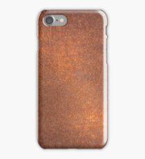 Old metal iron rust iPhone Case/Skin