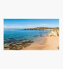 Praia da Rocha in Portimao, Algarve Photographic Print