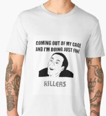 The Killers Caged Men's Premium T-Shirt