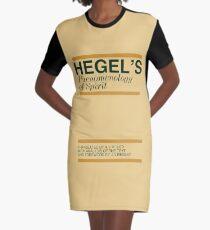 Hegel's Phenomenology of Spirit Graphic T-Shirt Dress