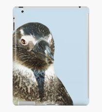 penguin close-up head  isolated object iPad Case/Skin