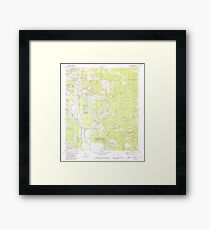 USGS TOPO Map Florida FL Lake Mary 347076 1972 24000 Framed Print