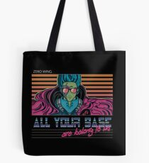 RETRO All Your Base Are Belong To Us Tote Bag