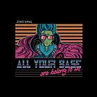RETRO All Your Base Are Belong To Us by refritomix