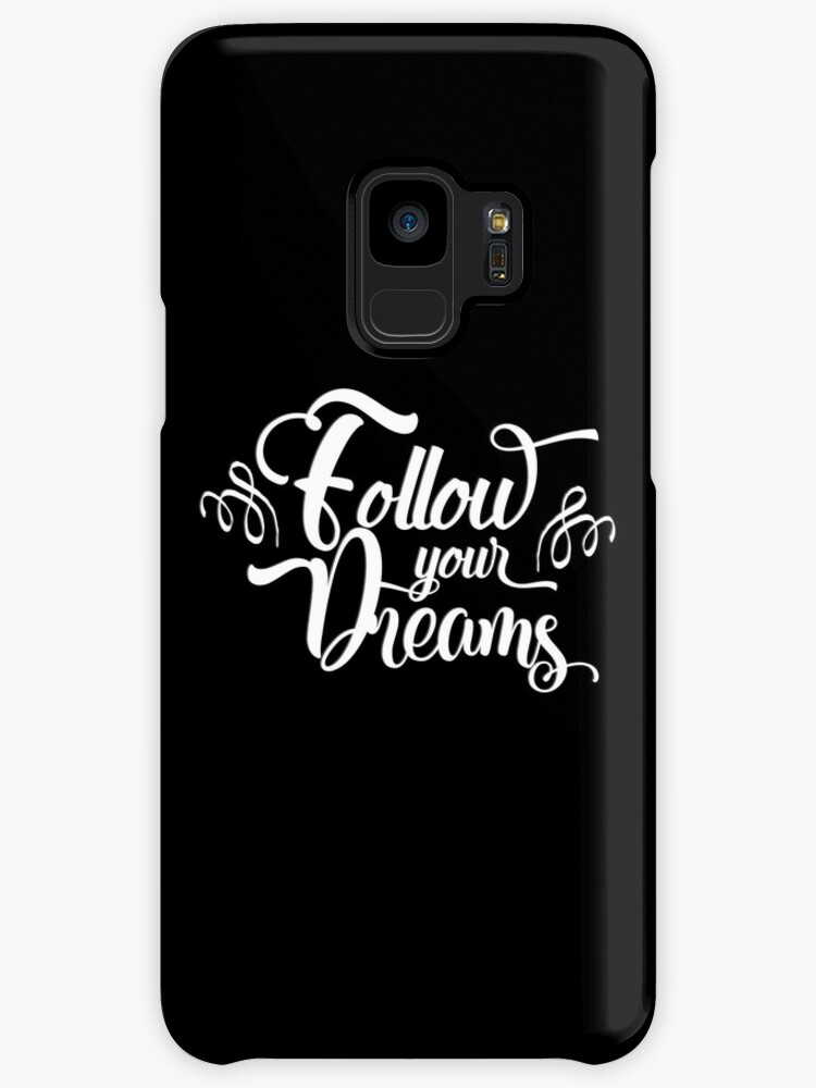 Follow Your Dreams Black Inspirational And Motivational Dreamers Cool Slam Metal Quotes