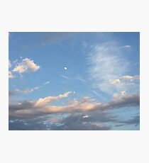Gray clouds Photographic Print