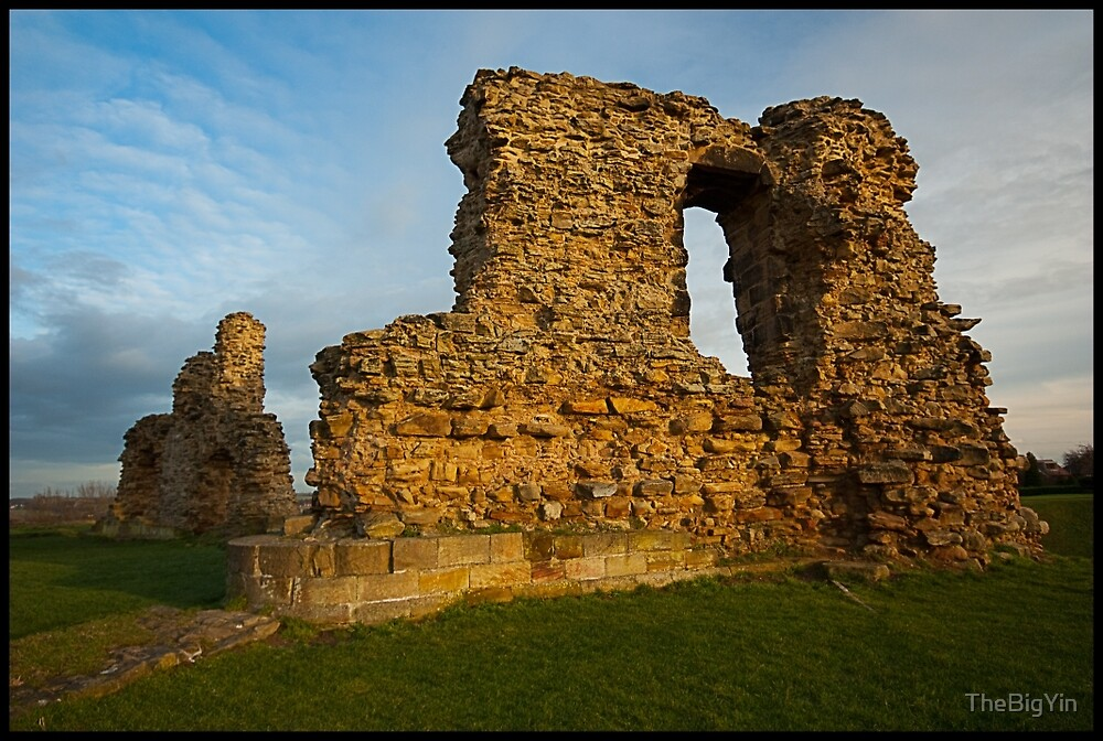 Sandal Castle Golden Hour by TheBigYin