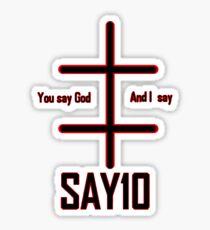 Marilyn Manson - Say10 Sticker