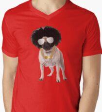 Afro Pug Funny Dog T-Shirt