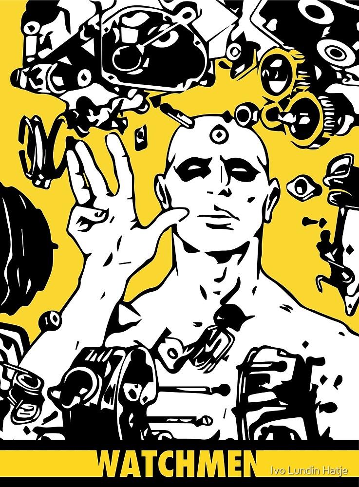 Dr. Manhattan Yellow by Ivo Lundin Hatje
