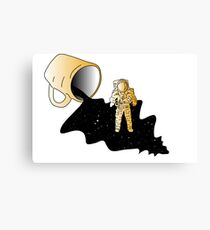 Space Spill Canvas Print