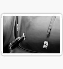 1950 Ferrari Hood Emblem -0276bw Sticker