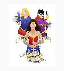 Wonder Women Photographic Print
