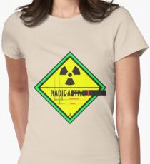 Radioactive Feminism Womens Fitted T-Shirt